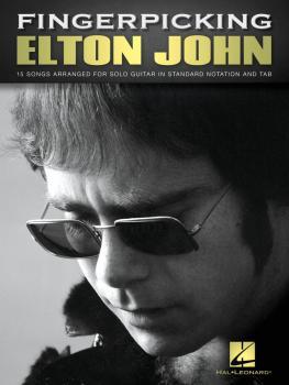 Fingerpicking Elton John: 15 Songs Arranged for Solo Guitar (HL-00237495)