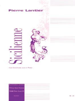 Sicilienne: Pour Saxophone Alto Et Piano (HL-48181111)