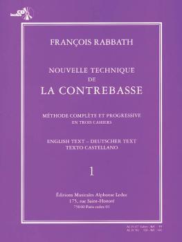Nouvelle Technique de la Contrebasse - Volume 1: Méthode Complète et P (HL-48183364)
