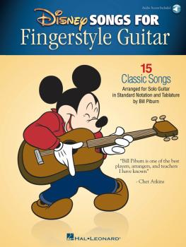 Disney Songs for Fingerstyle Guitar: 15 Classic Songs Arranged by Solo (HL-00172086)
