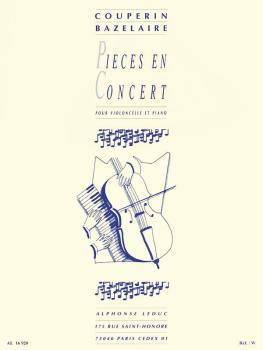 Pieces en Concert (for Cello and Piano) (HL-48180248)