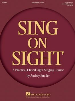 Sing on Sight - A Practical Sight-Singing Course (Volume 2) (HL-08749444)