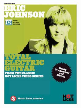 Eric Johnson - Total Electric Guitar (From the Classic Hot Licks Video (HL-14048277)