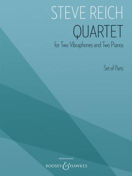 Quartet (for 2 Vibraphones and 2 Pianos Set of Parts) (HL-48024370)