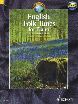 English Folk Tunes for Piano: 33 Traditional Pieces With a CD of Perfo (HL-49019938)
