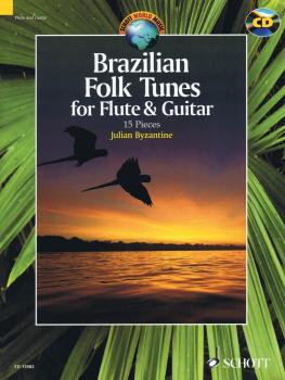Brazilian Folk Tunes For Flute & Guitar (15 Pieces) (HL-49044167)