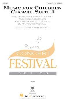 Music for Children (Choral Suite 1) (HL-49045277)