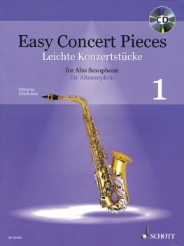 Easy Concert Pieces Book 1: 23 Pieces from 5 Centuries Alto Saxophone  (HL-49045792)