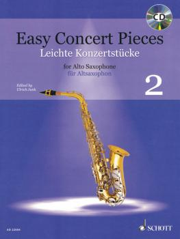 Easy Concert Pieces, Book 2: 23 Pieces from 6 Centuries Alto Saxophone (HL-49045907)