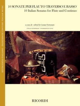 10 Italian Sonatas for Flute and Continuo (HL-50601090)