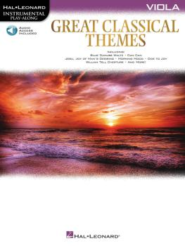 Great Classical Themes (Viola) (HL-00292737)