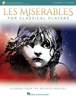 Les Misérables for Classical Players: Trumpet and Piano with Online Ac (HL-00284869)