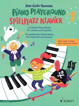 Piano Playground Band 1: 30 Playful Piano Pieces for Lessons and Conce (HL-49046024)