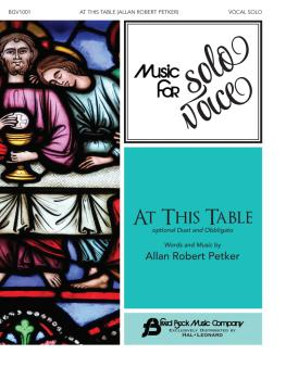 At This Table: Music for Solo Voice Series Vocal Solo with Optional Du (HL-00356265)