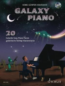 Galaxy Piano: 20 Galactic Easy Piano Pieces (HL-49046390)