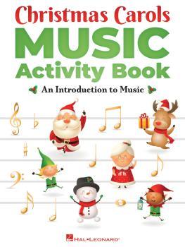 Christmas Carols Music Activity Book (HL-00349016)